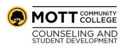 Mott Community College Counseling and Student Development logo