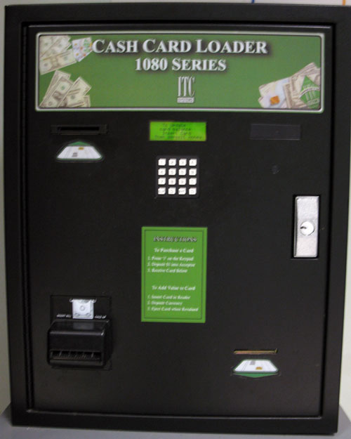 Cash Card Loader Machine