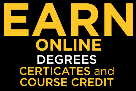 Earn a Degree or College Credit Online