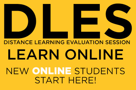 DLES Learn online, new online students start here