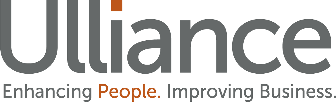 Ulliance Enhancing People. Improving Business. logo