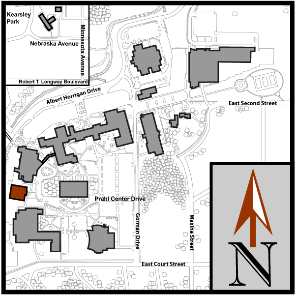 Main Campus Flint Map