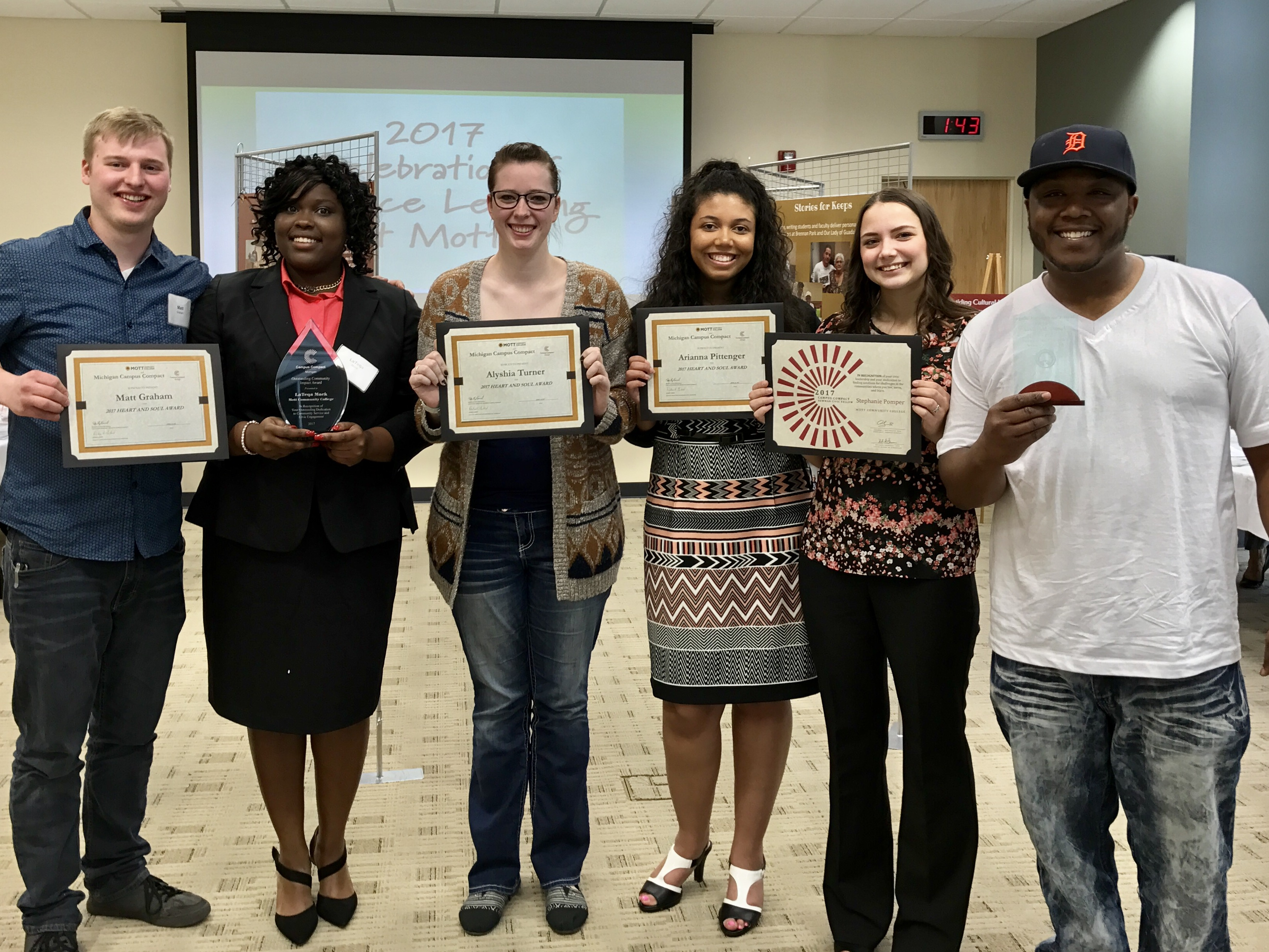 PTK Service Learning Awards