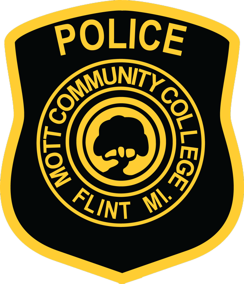 Mott Community College Department of Public Safety sleeve patch