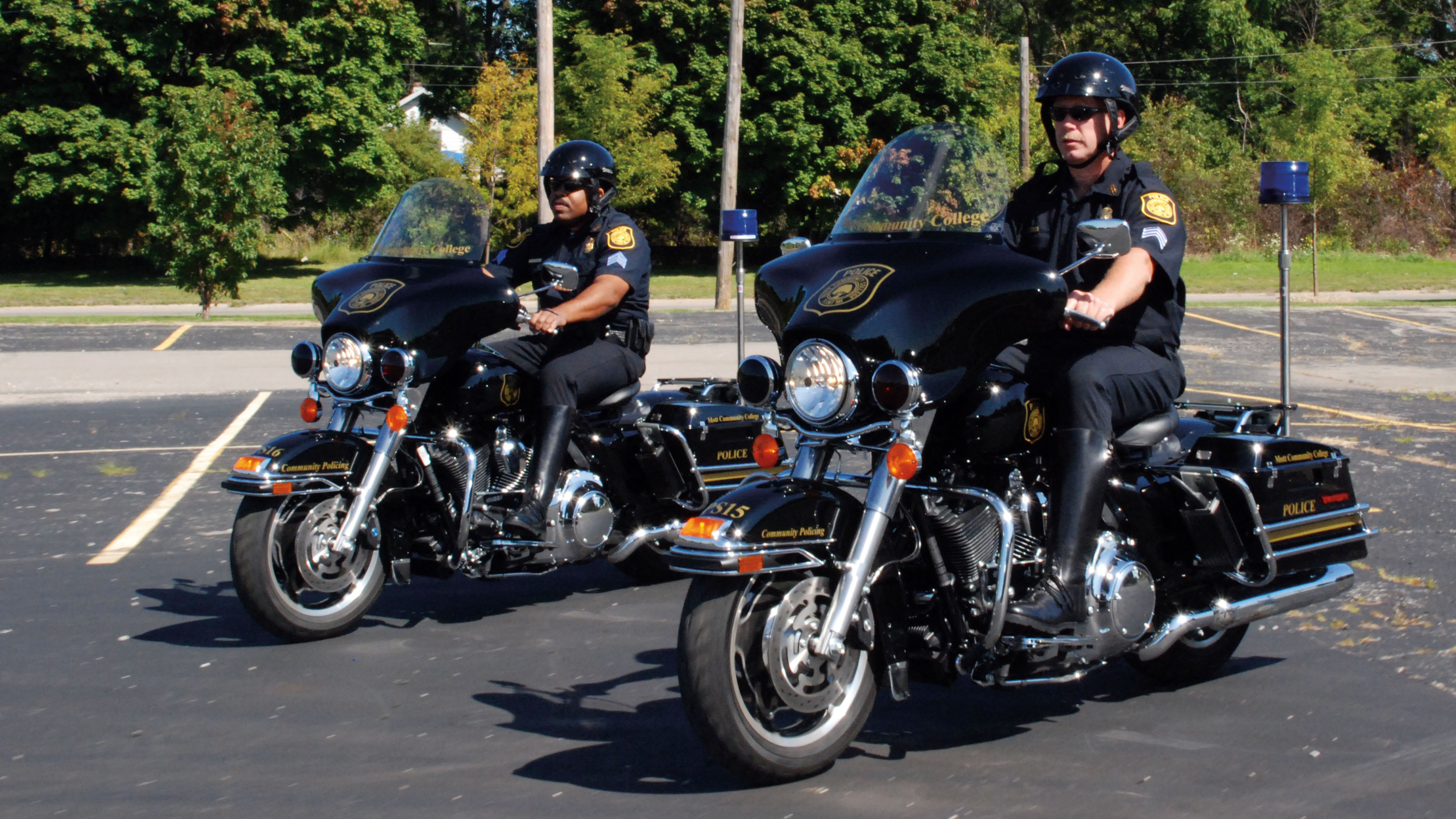 Department of Public Safety Motorcycle Patrol